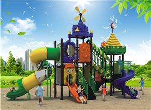 游乐设备孩童室内滑梯和大型室外滑梯的区别